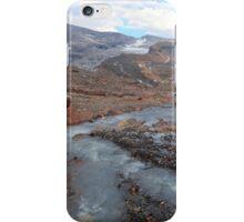 Melting glacier iPhone Case/Skin