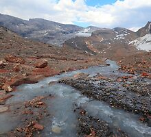 Melting glacier by zumi