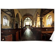 St Peter and St Paul, Yalding, Panorama Poster