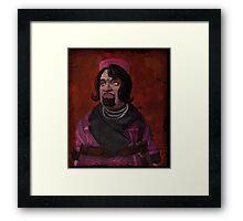 Marcus Kincaid Portrait Framed Print