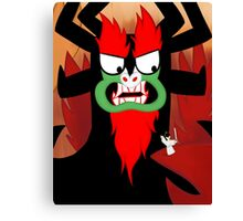 Foolish Samurai Warrior Canvas Print