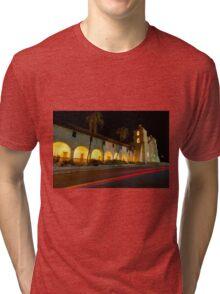 Santa Barbara Old Mission. Christmas 2011 Tri-blend T-Shirt