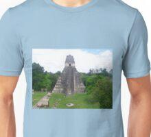 Mayan Temple of Jasaw Chan Kawiil I in Tikal, Guatemala Unisex T-Shirt