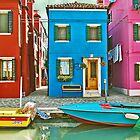 Colorful Burano  by Luisa Fumi