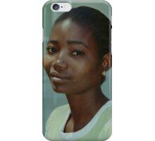 African Beauty, Maun, Botswana iPhone Case/Skin