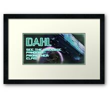 See The Universe Framed Print