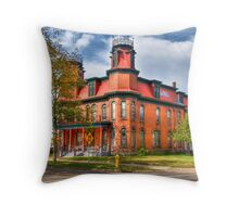 Cool House Throw Pillow