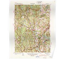 Massachusetts  USGS Historical Topo Map MA Sterling 352229 1940 31680 Poster