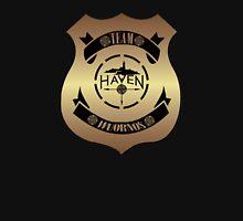 Haven Team Wuornos Gold Police Badge Logo Unisex T-Shirt