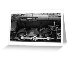 Grand Canyon Railway #539 Greeting Card