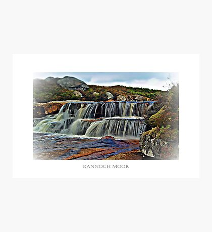 The Secret River Of Rannoch Moor. Photographic Print