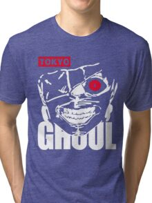 Tokyo Ghoul Kaneki Ghoul Anime Cosplay T Shirt Tri-blend T-Shirt