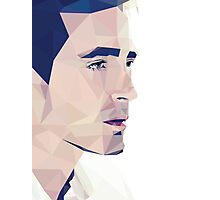 Lee Pace - Low Poly Photographic Print