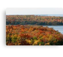 Fall in Door County Canvas Print