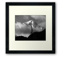 Mount Rainier View from the West Framed Print