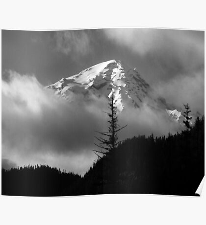 Mount Rainier View from the West Poster