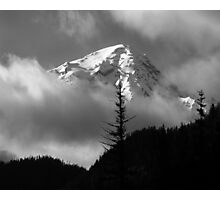 Mount Rainier View from the West Photographic Print