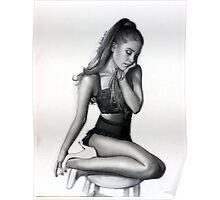 Ariana Grande T-shirt, Scarves, Duvets and More Poster