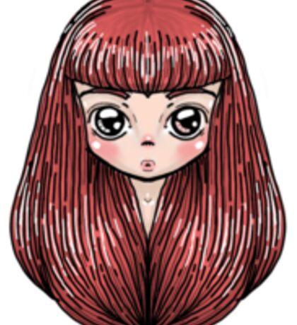 Long Hair Sticker