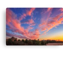 High and Away over Fenway Park Canvas Print
