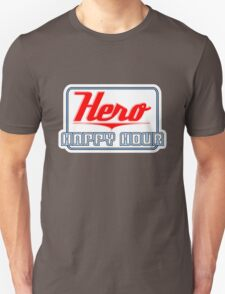 Hero Happy Hour Logo Unisex T-Shirt