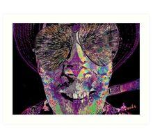 Raoul Duke- Fear & Loathing in Las Vegas Art Print