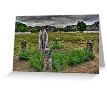 Point Nepean Cemetery Greeting Card