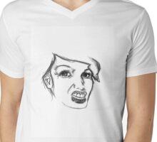 Grrrl Mens V-Neck T-Shirt