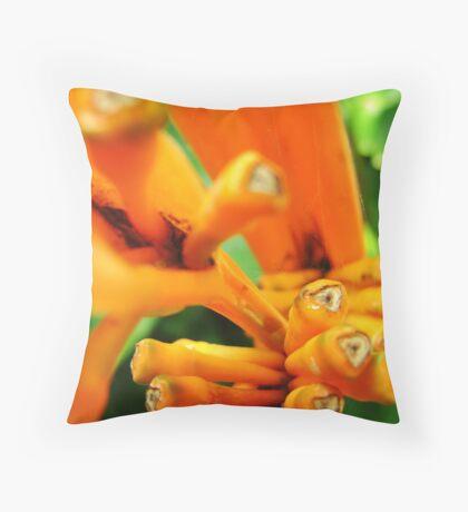 Buds Throw Pillow