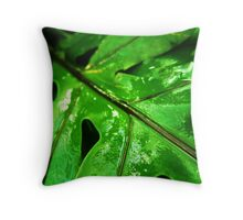 Cool and Wet Throw Pillow