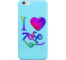 I Love ZoSo iPhone Case/Skin