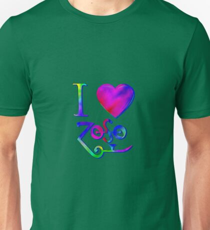 I Love ZoSo Unisex T-Shirt