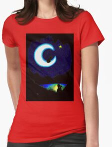 TALKING TO STARS Womens Fitted T-Shirt