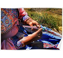 WOMAN FROM COLCA / AREQUIPA Poster
