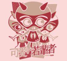 Imp Mascot Stencil Kids Clothes