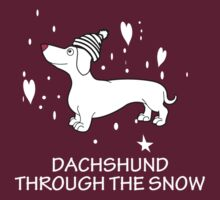 DACHSHUND THROUGH THE SNOW by imsrnvs
