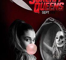 Ariana Grande Scream Queens Promotional Poster September 2015 by Stingray Florida