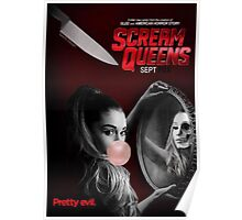 Ariana Grande Scream Queens Promotional Poster September 2015 Poster