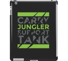 Jungler Only iPad Case/Skin