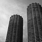Marina City Chicago USA by Jonathan  Green