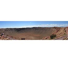 PANORAMA OF METEOR CRATER,AZ Photographic Print