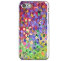 Spring Garden with Jacaranda flowers iPhone Case/Skin
