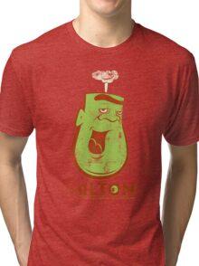 Milton the Monster - grungy colour Tri-blend T-Shirt