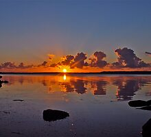Tugggerah Lakes.30-9-2010.NSW.AUSTRALIA. 3  by Warren  Patten