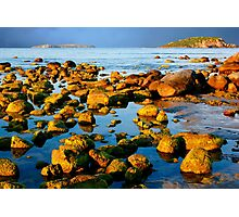 A Rocky Coastline Photographic Print