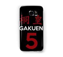 Kuroko No Basket Basuke Gakuen 5 Cosplay Jersey Anime T Shirt Samsung Galaxy Case/Skin
