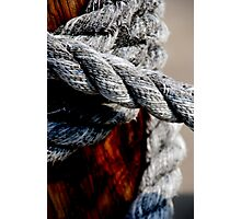 Tied together - for ever? Photographic Print