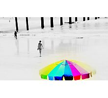 Hot Summer Day at the Beach Photographic Print