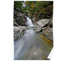 Bingham Falls - Midstream - Wide Poster