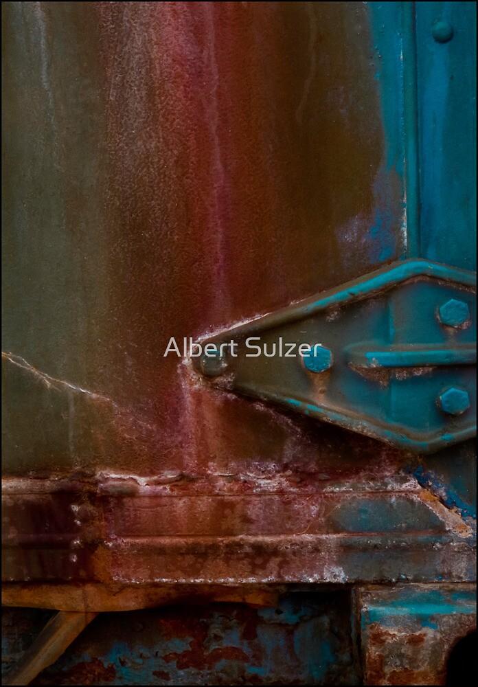 Brighton Pier Abstract -132 by Albert Sulzer
